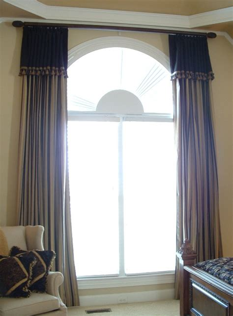 curtain ideas for arched windows special window treatments for arched windows the blinds