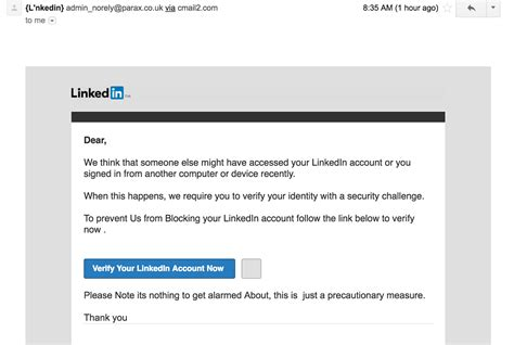 Search Linkedin By Email Don T Fall For Linkedin Scams 360 Total Security