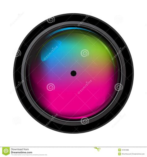 Lens Stop Only Stop Granmax Up realistic digital lens royalty free stock photo