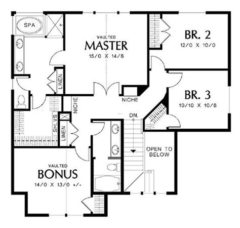 residential floor plans free home plans residential home plans