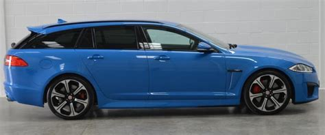 blue station wagon you seen a xfr s station wagon in kyanite blue