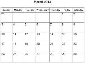 March 2013 Calendar Free Wallpaper Calendar March 2016 Wallpapersafari