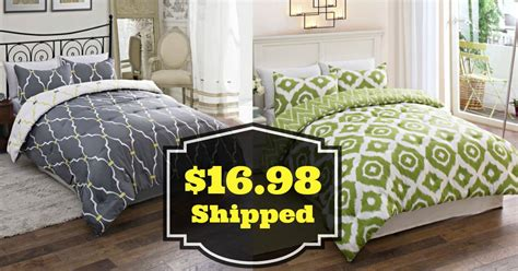 Walmart 16 98 Reversible Bedding Sets Shipped 50 Value