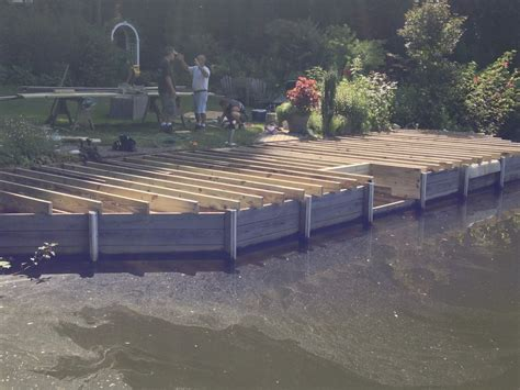 boat dock upgrades trex composite decking boat dock upgrade cary deck nc