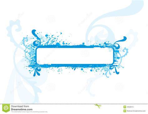 House Plan Styles blue frame design element stock images image 3352674