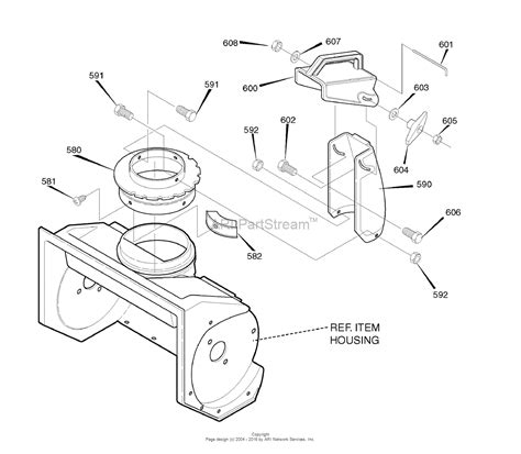 murray snowblower parts diagram murray 1695716 dynamark 21 quot single stage snow thrower