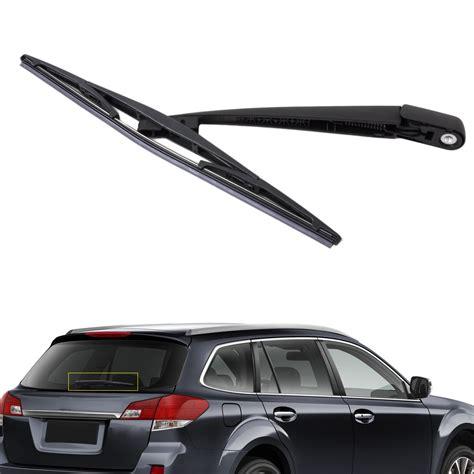 rear windshield wiper arm blade set for subaru forester