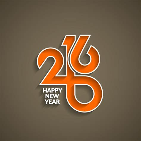 modern new year modern new year background of 2016 vector free