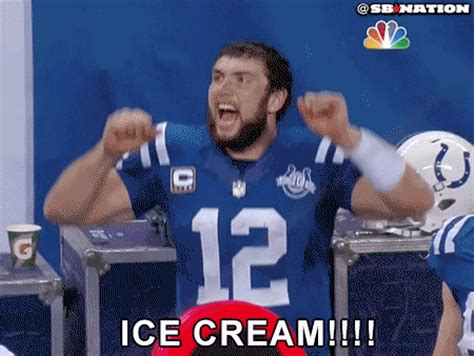 Andrew Luck Memes - andrew luck jumps for joy after leading huge comeback