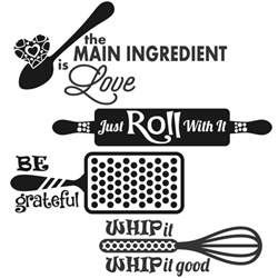 kitchen design quotes kitchen food sayings svg cuttable designs