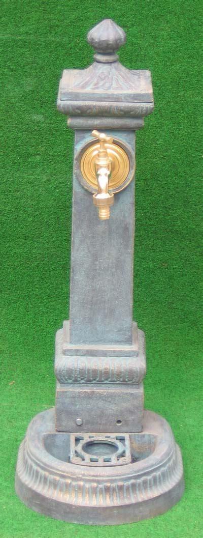 Nostalgischer Wasserhahn Garten by Nostalgischer Standbrunnen Mit Wasserhahn 71cm Auf Garten