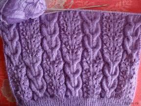 вязание узоры на спицах жгуты
