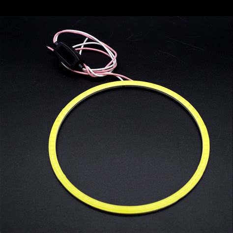 Eye Cob Bmw Style 110 Mm 2pcs led halo rings cob 93chips 120mm for bmw e46 e60 e39 car styling white yellow