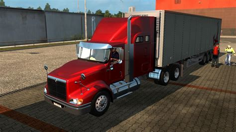 international semi truck international 9400i truck euro truck simulator 2 mods