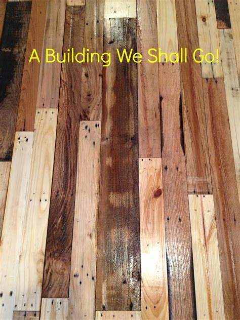 Pallet Wood Floor A Building We Shall Go The Of Pallet Wood Flooring
