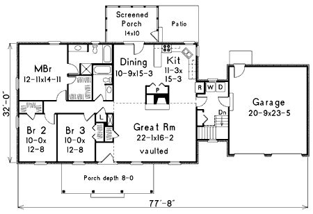 expandable house plans easily expandable house plan 5759ha 1st floor master
