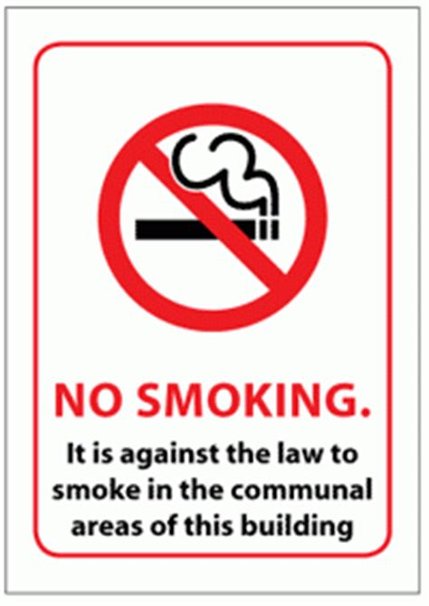 no smoking sign function no smoking in a rented property how legislation affects