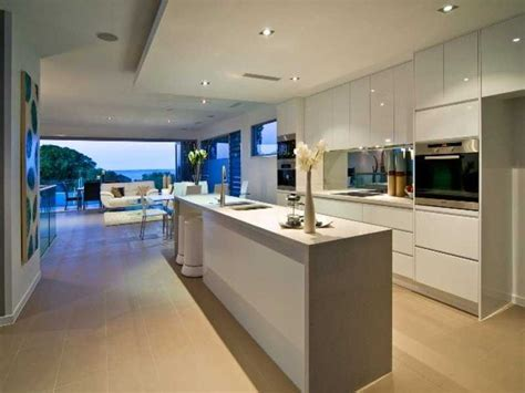 best 25 modern open plan kitchens ideas on