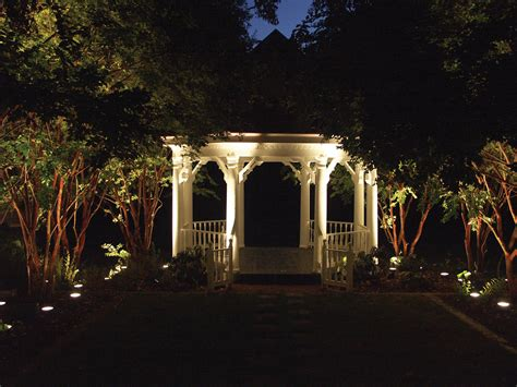 Exterior Patio Lighting Versatile Gazebo Lighting Allows The Space To Be Used In Many Ways Outdoor Lighting