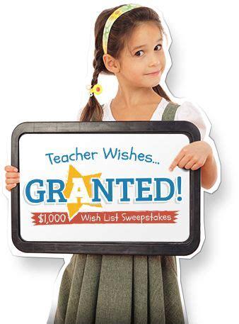 Wish List Sweepstakes - the 25 best teacher wish list ideas on pinterest teacher orientation day and open