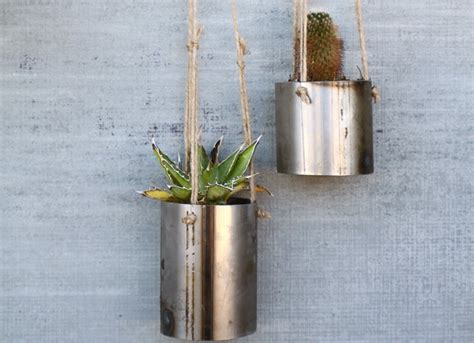 Buy Hanging Planters by Steel Planters Planter Ideas 7 Hanging Options To Buy