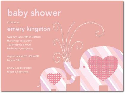 elephant theme baby shower invitations baby shower