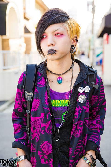 Mascara Harajuku Harajuku Styles W Piercings Barokue Brain