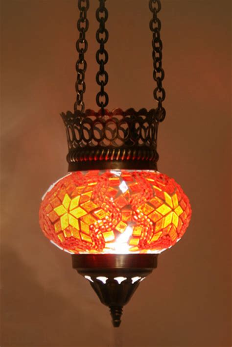 Turkish Pendant Lights Turkish Style Mosaic Pendant L 10cm Mediterranean Pendant Lighting Other Metro By