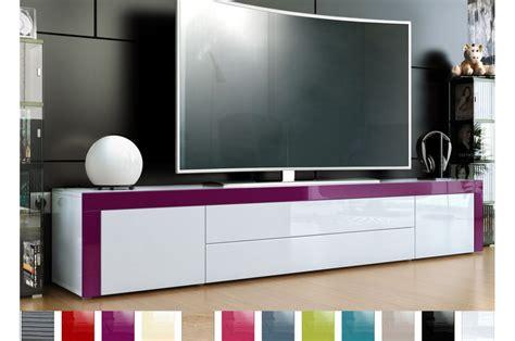 Meuble Tv 200 Cm by Meuble Tv Design 200 Cm De 10 Finitions Moderne