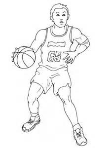 27 dessins coloriage basketball 224 imprimer
