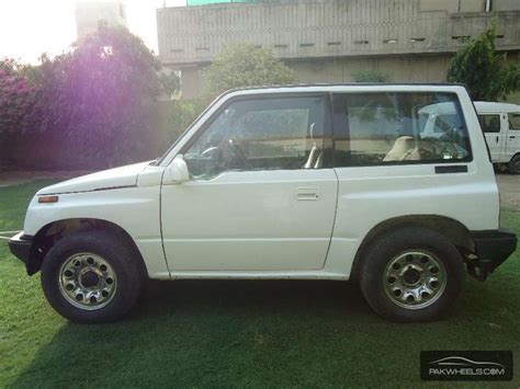 Suzuki Vitara Motor For Sale Used Suzuki Vitara 1989 Car For Sale In Faisalabad