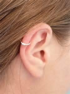 faux piercing fil plaqu 233 argent oreille cartilage nez