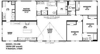 Wide Trailers Floor Plans Wide Floorplans Mccants Mobile Homes
