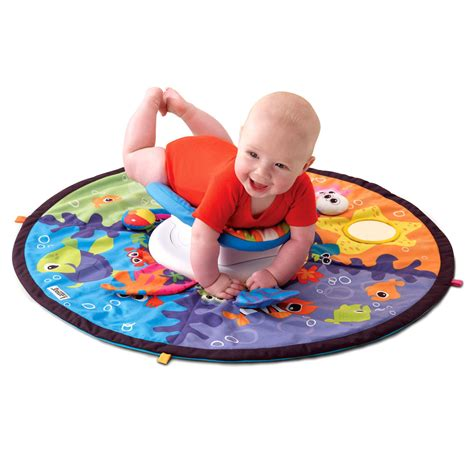 Tummy Time Mats For Newborns by Lamaze Tummy Time Spin Explore The Sea Play Mat