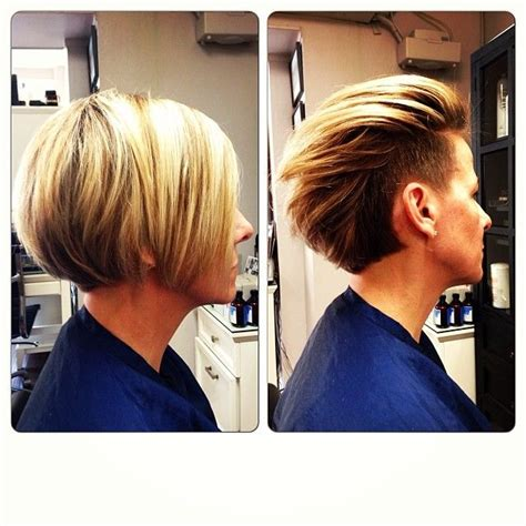 haircut bob undercut 17 best images about undercuts on pinterest shorts