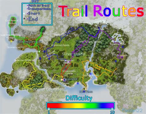 where the light is star stable trail riding routes by faolan22 on deviantart