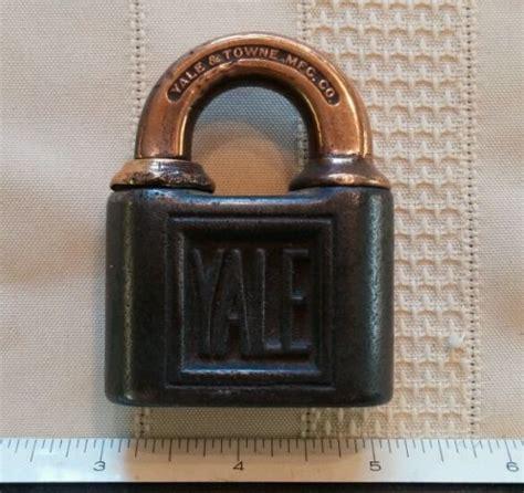 Yale Gembok Travel Lock Series Ytp531 Black 5 antique padlocks hq price guide