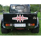 1947 International KB1 Harvester  Hotrod Hotline