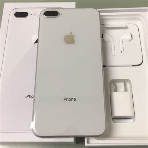 apple iphone 8 plus silver 64gb brand new at t for sale in dallas tx 5miles buy and sell