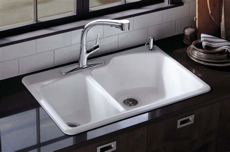 Kohler Wheatland Sink by Types Of Kitchen Sinks Read This Before You Buy