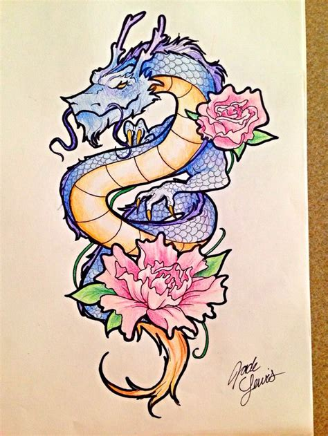 rose dragon tattoo 55 best images about ideas on