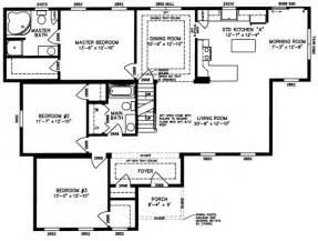 Modular Home Ranch Floor Plans by Ranch Modular Home Floor Plans