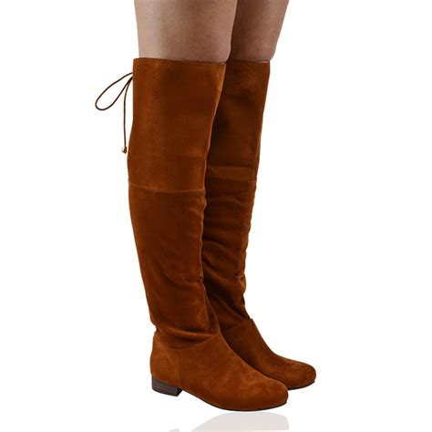 thigh high boots flat heel new womens thigh high flat heel lace up the