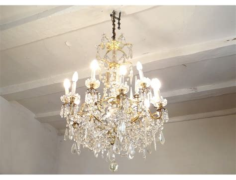Chandelier Garland 18 Lights Chandelier Pendants Garlands Napoleon Iii Nineteenth