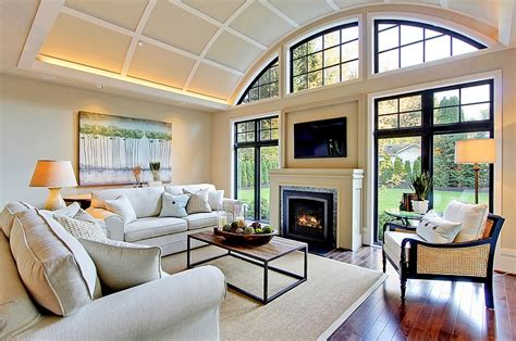 Tv And Fireplace In Living Room by Tv Above Fireplace Design Ideas
