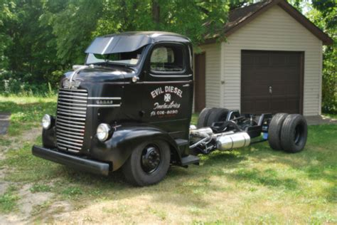 1947 dodge cabover coe rat rod project patina rat truck