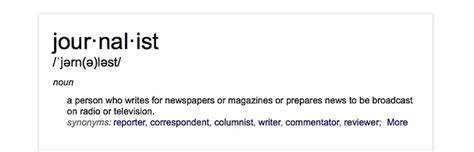 Journalism Definition by But Is It And Am I A Journalist Gelbspan Files