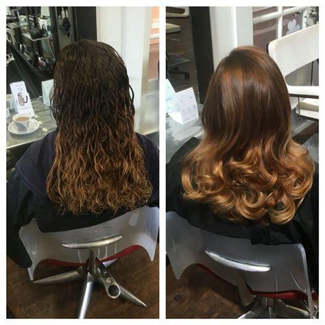 Before and After. Kerastase Discipline Treatment.   Denise