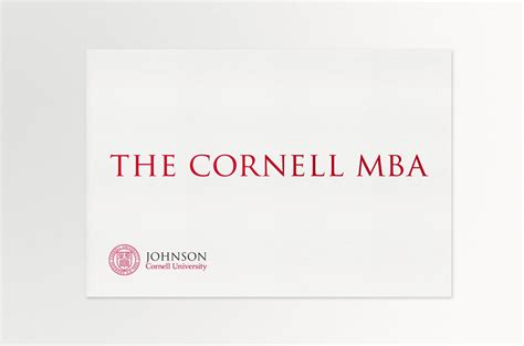 Cornell Mba Application Requirement by Zanzinato Work Johnson Graduate School Of Management