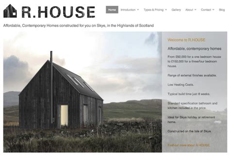 houses for r r house rural design architects isle of skye and the
